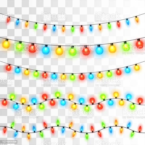 크리스마스 불빛 0명에 대한 스톡 벡터 아트 및 기타 이미지