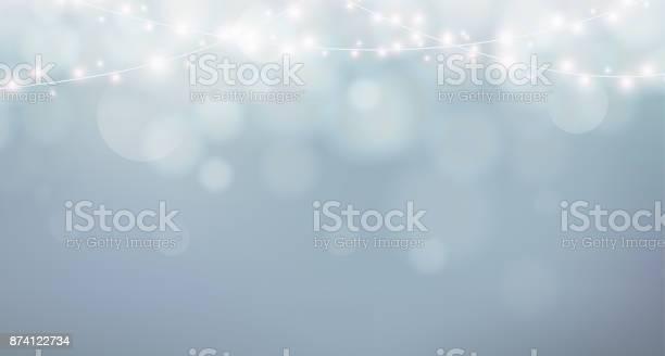Christmas lights xmas garland decoration grey background with shine vector id874122734?b=1&k=6&m=874122734&s=612x612&h=bna5l 23zbjcf5sss36jfbugnugau9ll2abetgqlwfg=
