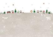 istock Christmas market and animals 1218359991