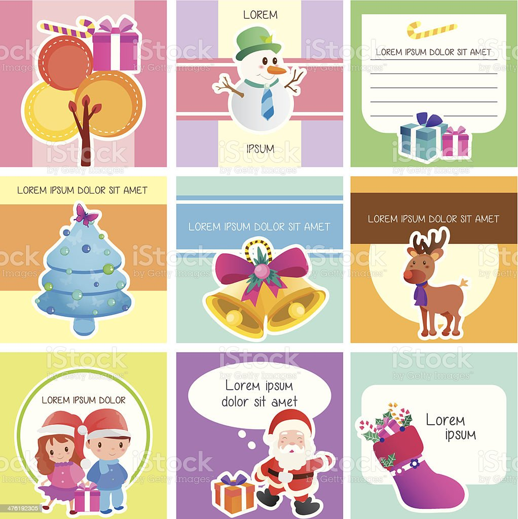 Christmas memo layout royalty-free christmas memo layout stock vector art & more images of adhesive note