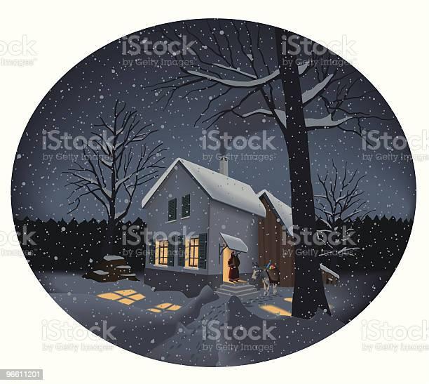Christmas Memory-vektorgrafik och fler bilder på Arkitektur