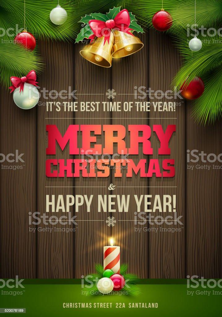 Christmas Message Board Stock Vektor Art und mehr Bilder von ...