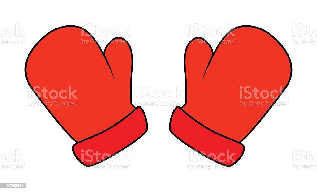 christmas mittens cartoon gloves design icon symbol royalty free christmas mittens - Christmas Mittens