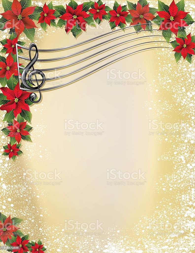 Christmas Music Background.Christmas Music Background Stock Illustration Download