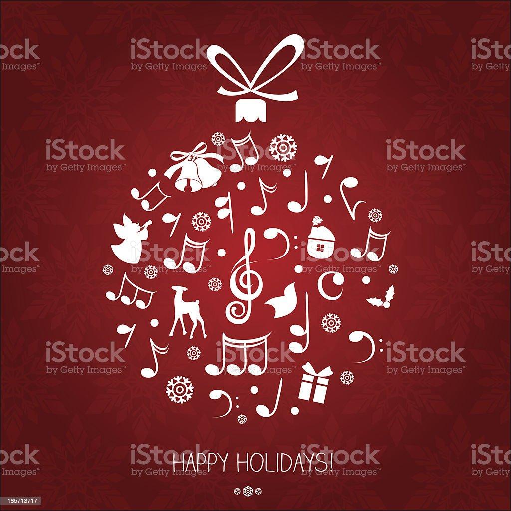 Christmas music ball royalty-free christmas music ball stock vector art & more images of angel