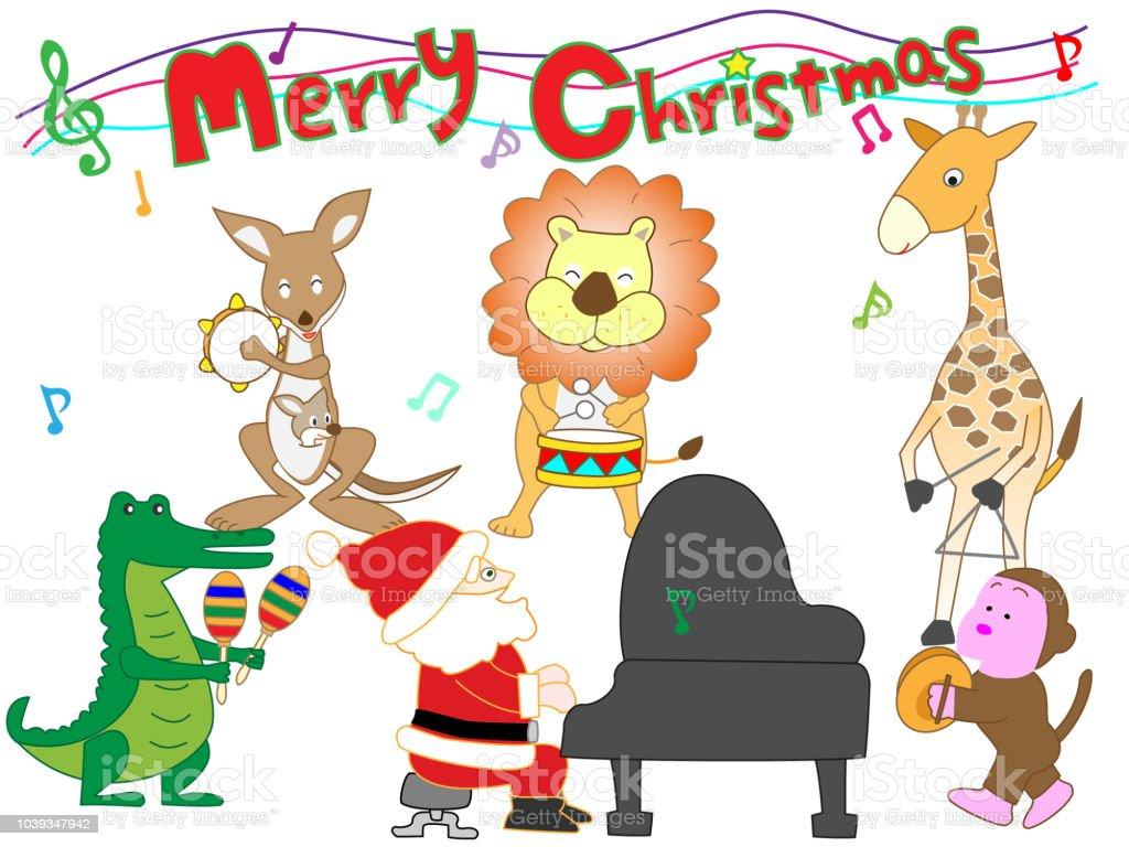Weihnachtslieder Stock Vektor Art und mehr Bilder von Blasinstrument ...