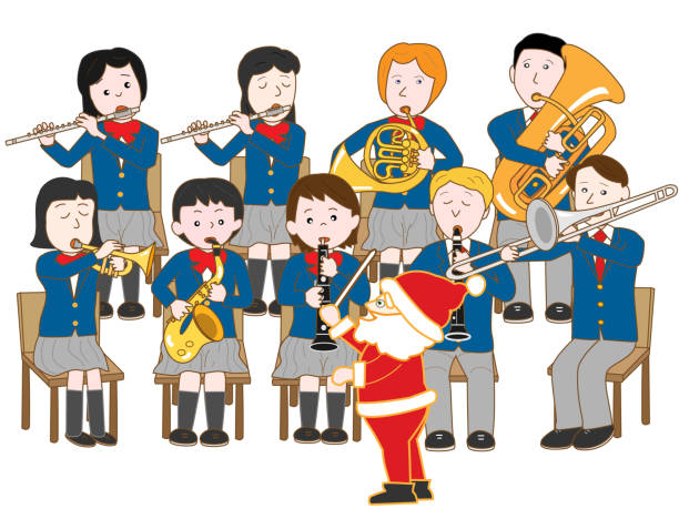 Best Christmas Concert Illustrations, Royalty-Free Vector ...