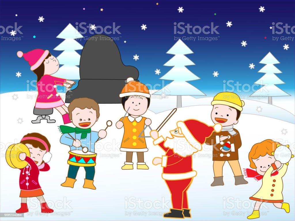 Weihnachtslieder Stock Vektor Art und mehr Bilder von Baum 956204384 ...