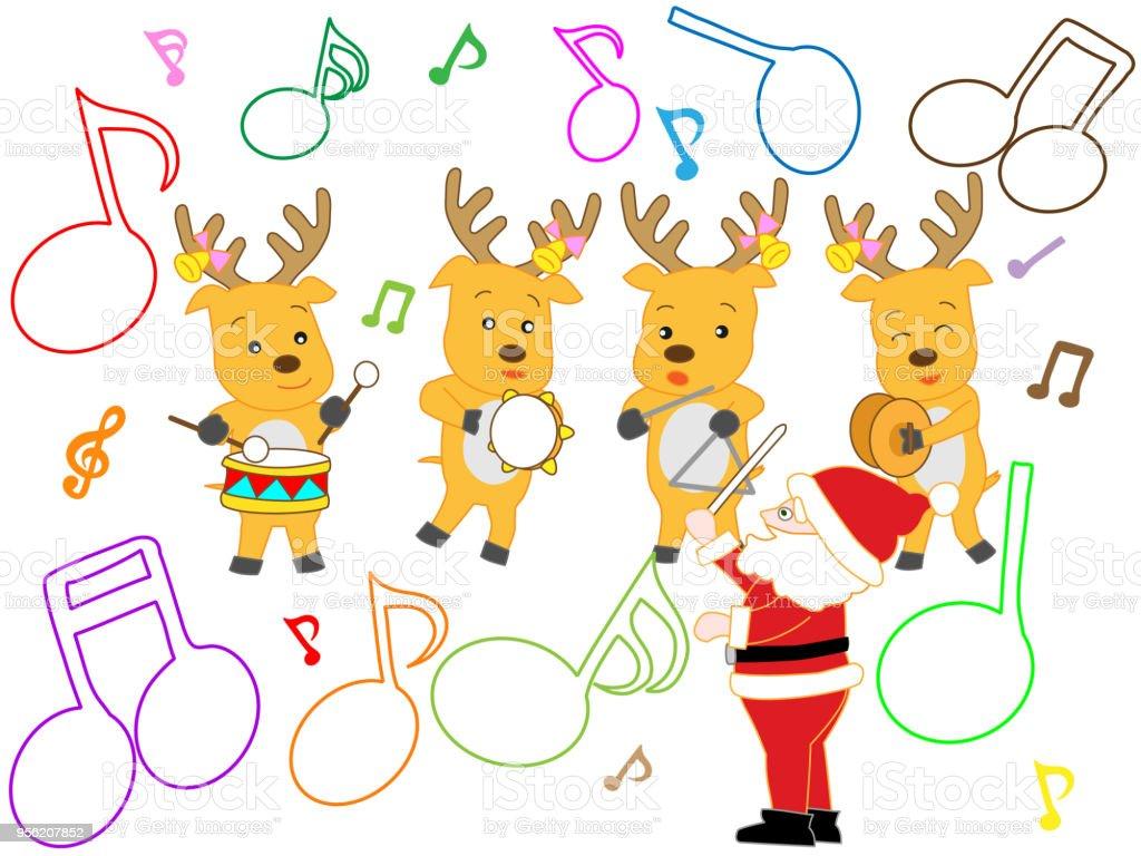 Weihnachtslieder Stock Vektor Art und mehr Bilder von Baum 956207852 ...