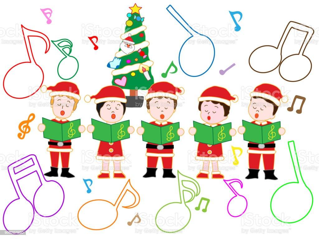 Weihnachtslieder Stock Vektor Art und mehr Bilder von Baum 956207950 ...