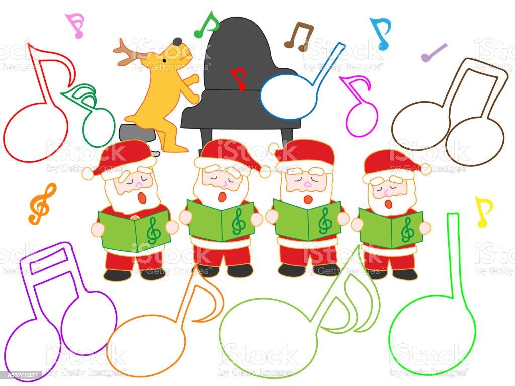 Weihnachtslieder Stock Vektor Art und mehr Bilder von Baum 956208032 ...
