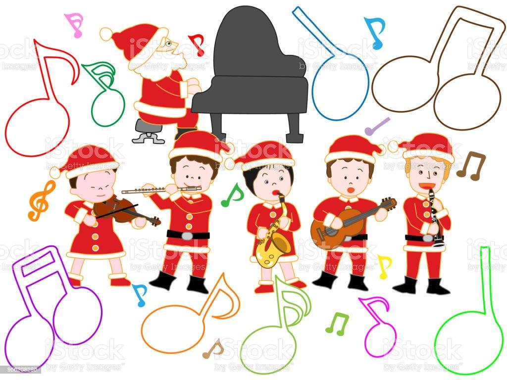 Weihnachtslieder Stock Vektor Art und mehr Bilder von Baum 956208296 ...