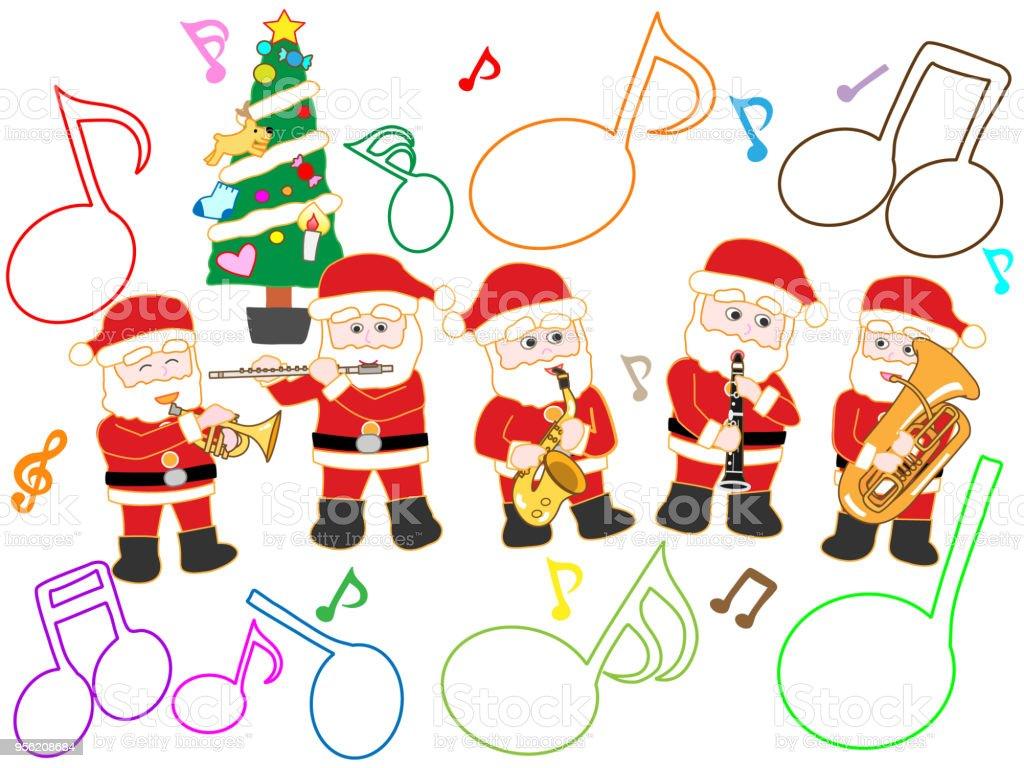 Weihnachtslieder Stock Vektor Art und mehr Bilder von Baum 956208684 ...