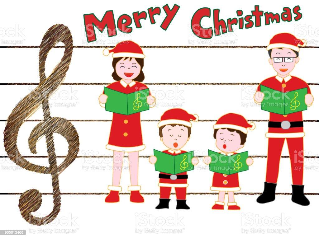 Weihnachtslieder Stock Vektor Art und mehr Bilder von Baum 956613460 ...