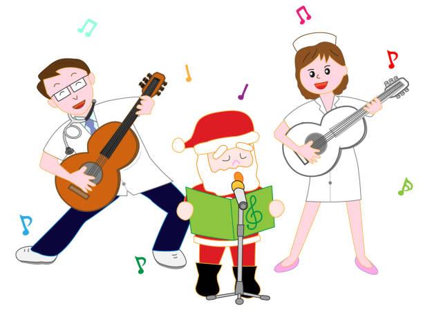 Top 60 Christmas Nurse Clip Art, Vector Graphics and ...