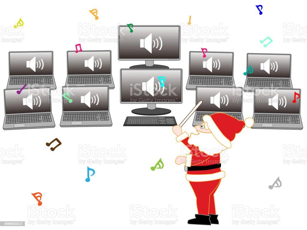 Weihnachtslieder Stock Vektor Art und mehr Bilder von Baum 956630322 ...