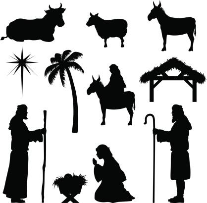 Christmas Nativity Icons-Shepherd