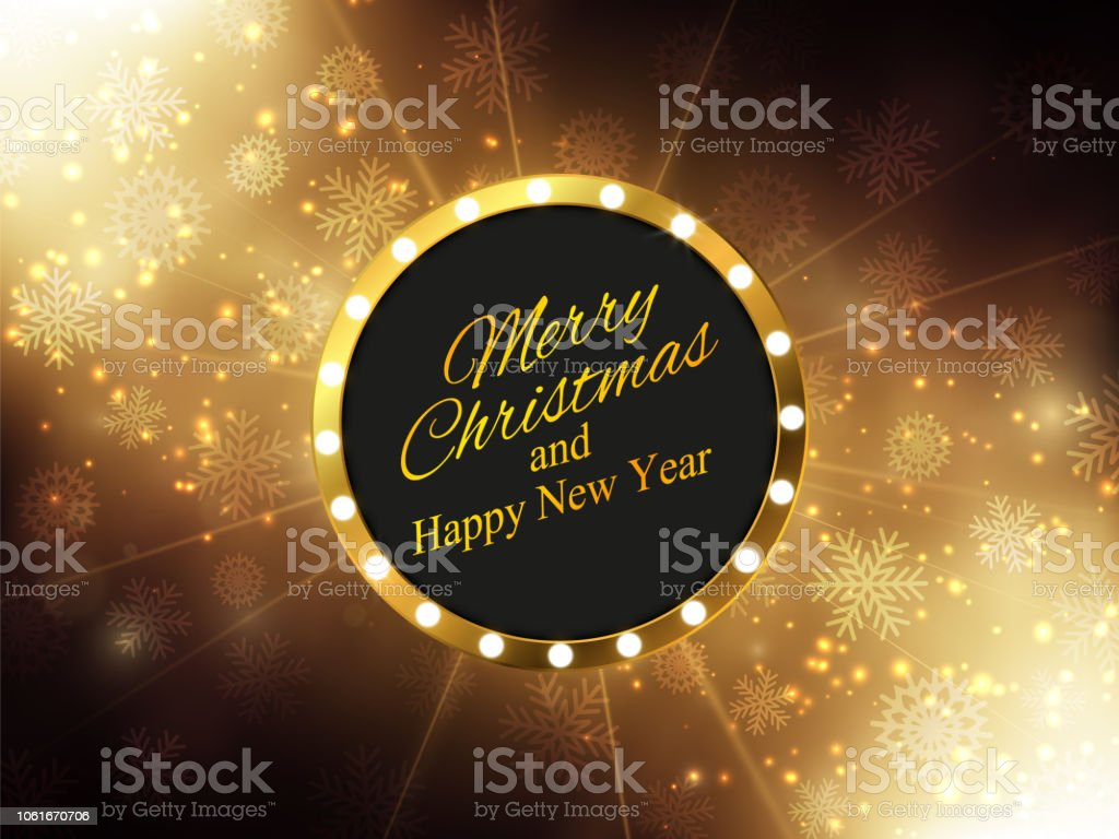 christmas new year background gold glitter background vector illustration royalty free christmas