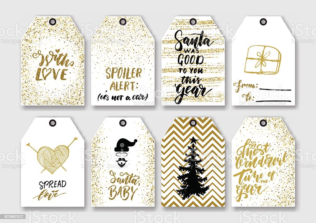 Christmas new year gift tags 623982322 istock christmas new year gift tags negle Choice Image