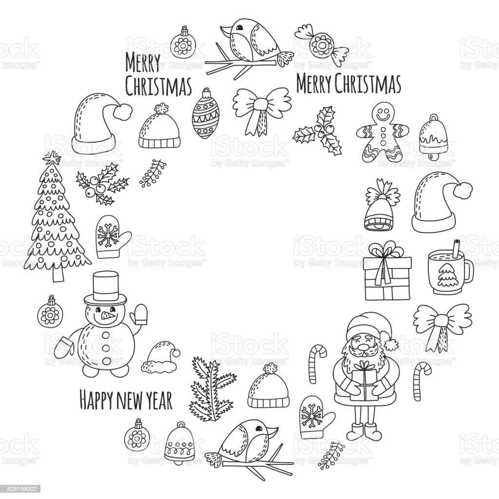 Seker Christmas Can Kar Tanesi Boyama Page Yilbasi Yeni Yil Noel