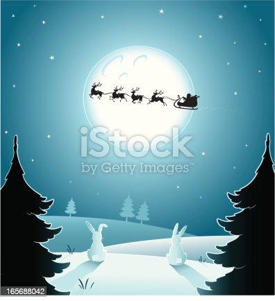 istock Christmas night 165688042