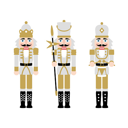 Christmas Nutcracker Figures - Toy Soldier Doll Decorations
