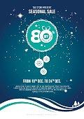 Christmas Offer Flyer Design