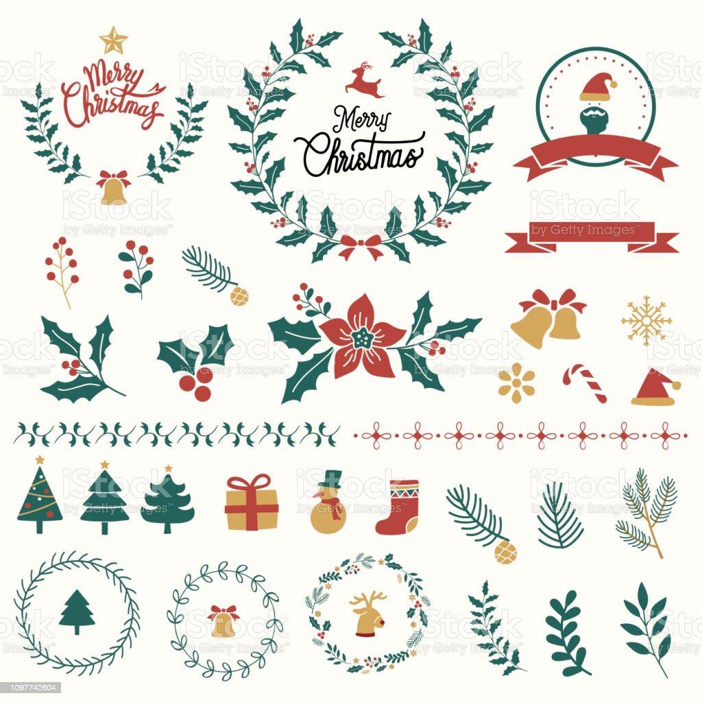 Christmas ornament art - Векторная графика Ёлочные игрушки роялти-фри