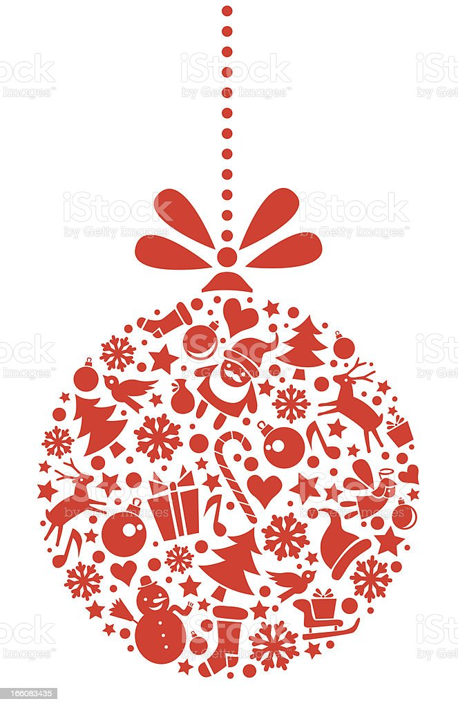 Christmas Ornament royalty-free christmas ornament stock vector art & more images of advertisement