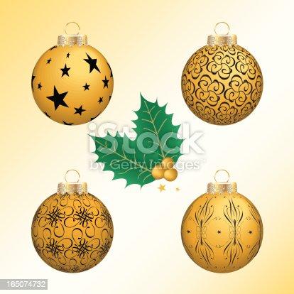 istock Christmas Ornaments 165074732