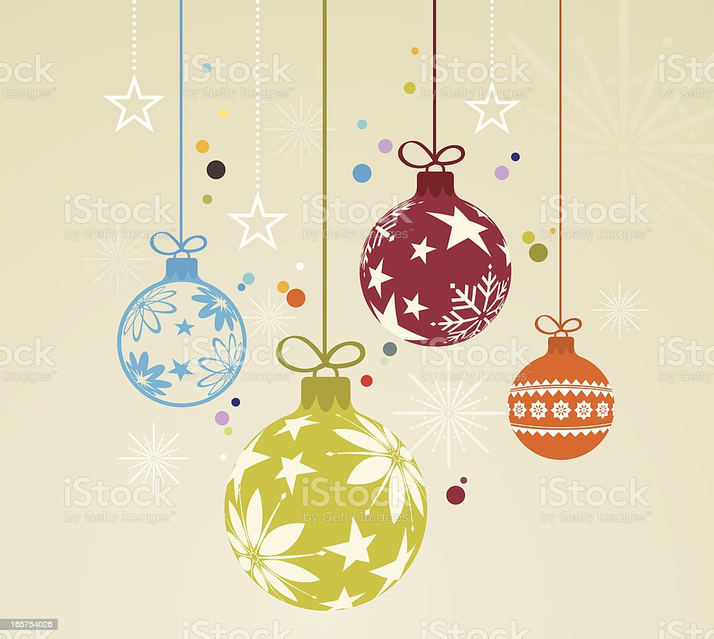 Christmas Ornaments royalty-free christmas ornaments stock vector art & more images of backgrounds