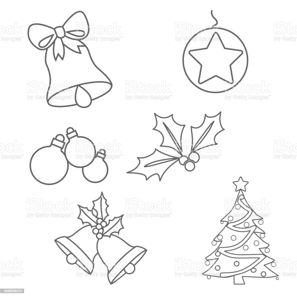- Christmas Decorations Coloring Azspringtrainingexperience