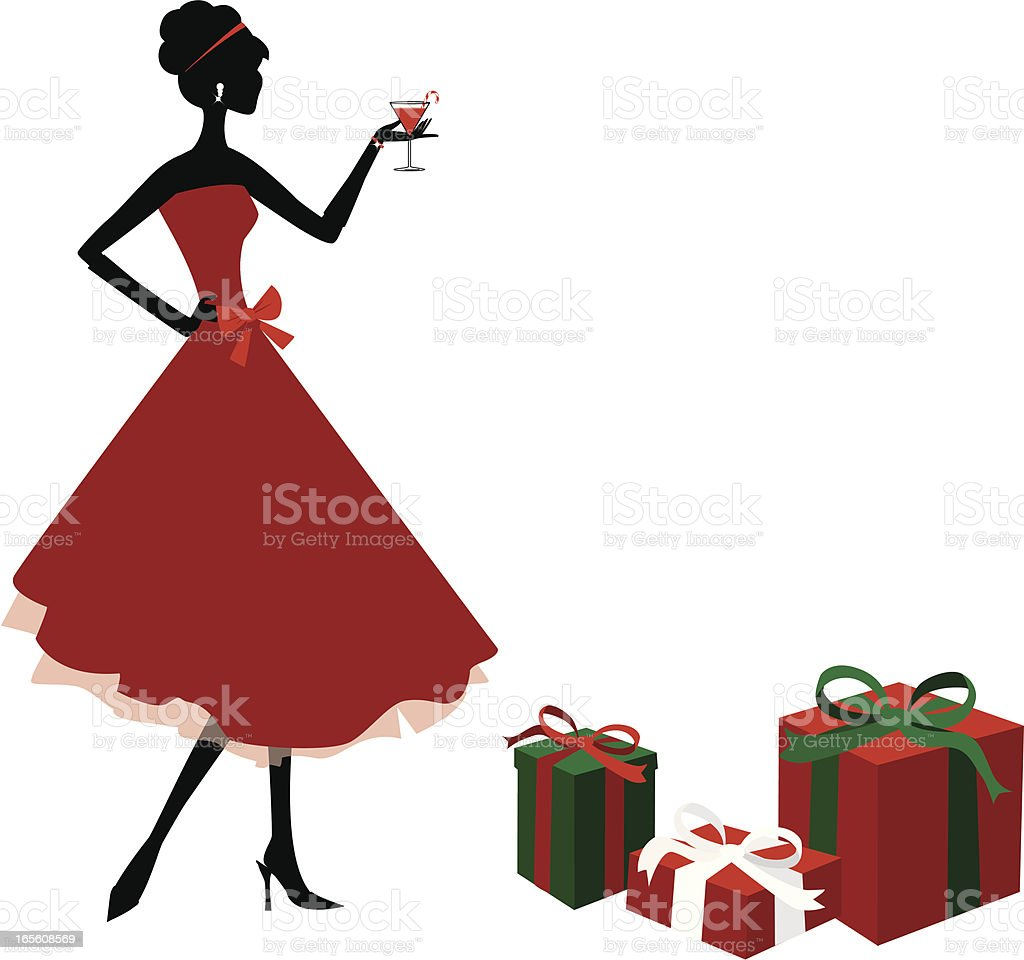 Christmas Party royalty-free stock vector art