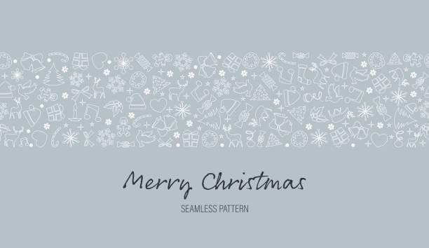 Christmas Pattern vector art illustration