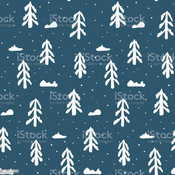 Christmas pattern with white fir trees and snow vector id856898890?b=1&k=6&m=856898890&s=612x612&h=pd 7  o9hnqldqvspo5krmkdymau11xgagfgw1z93rc=