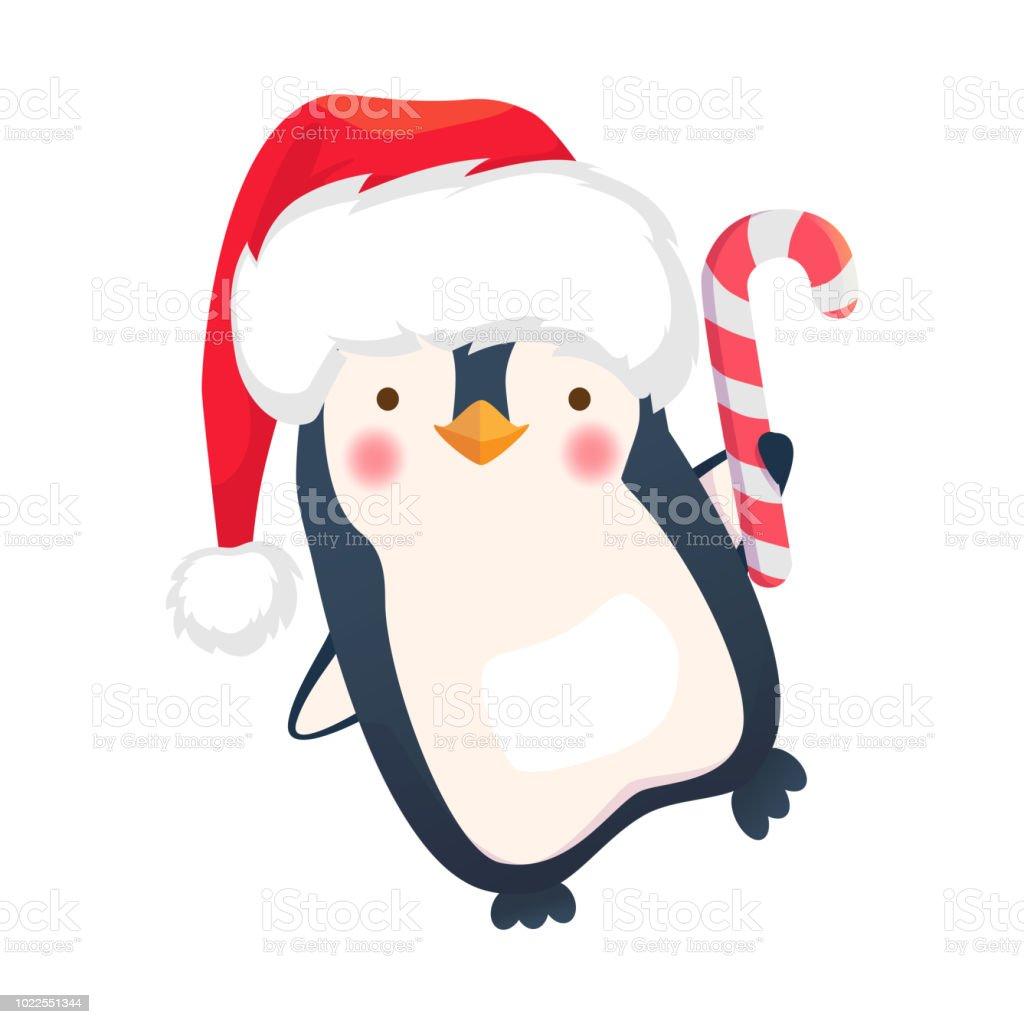 Ilustración De Ilustración De Dibujos Animados De Pingüino De