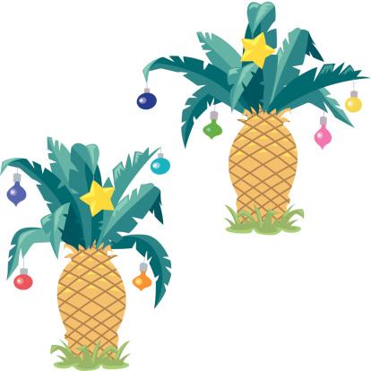 Christmas Pineapples C