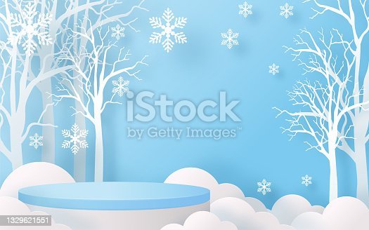 istock Christmas podium 000 1329621551