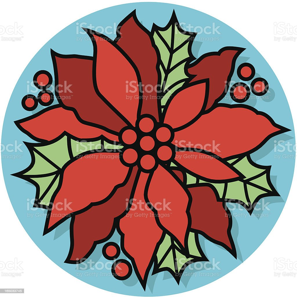 Christmas poinsettia royalty-free christmas poinsettia stock vector art & more images of berry fruit