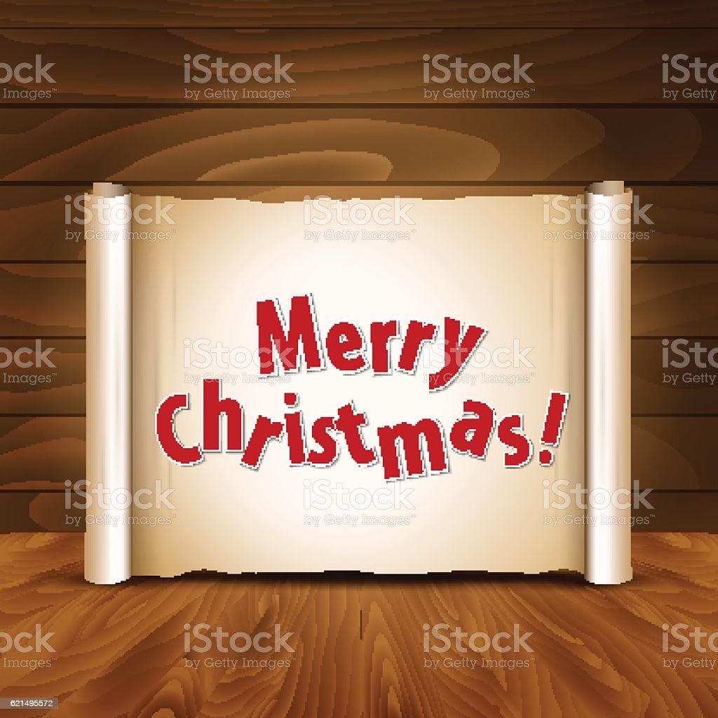 Christmas postcard on a wooden background christmas postcard on a wooden background – cliparts vectoriels et plus d'images de carré - composition libre de droits