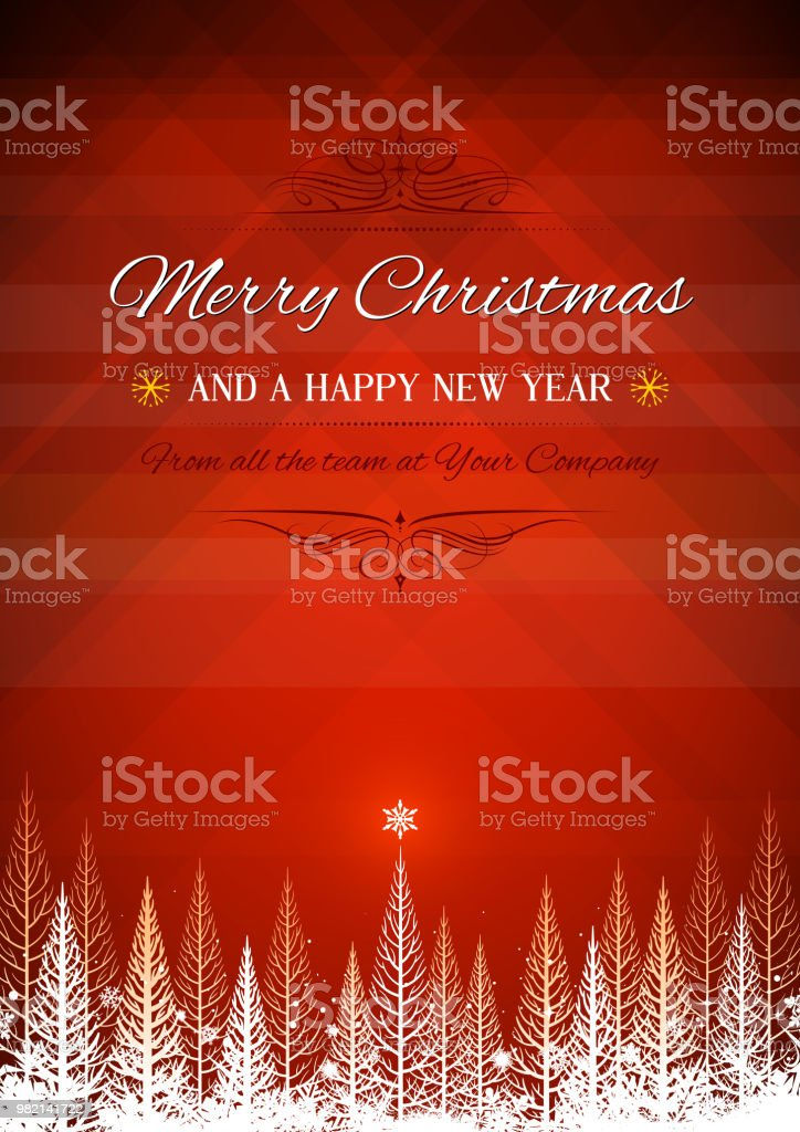 christmas poster background stock vector art more images of