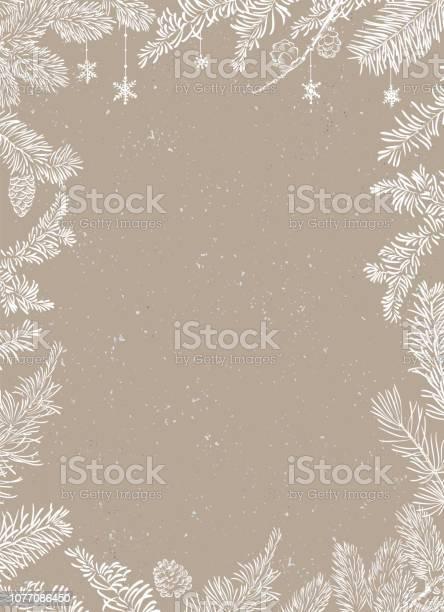 Christmas Affisch Illustration Vektorillustration Av Jul Bakgrund-vektorgrafik och fler bilder på Abstrakt