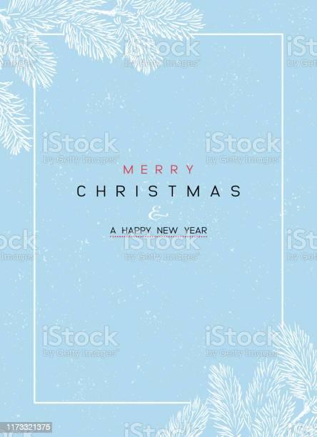 크리스마스 포스터 일러스트레이션 크리스마스 배경의 벡터 그림 겨울에 대한 스톡 벡터 아트 및 기타 이미지