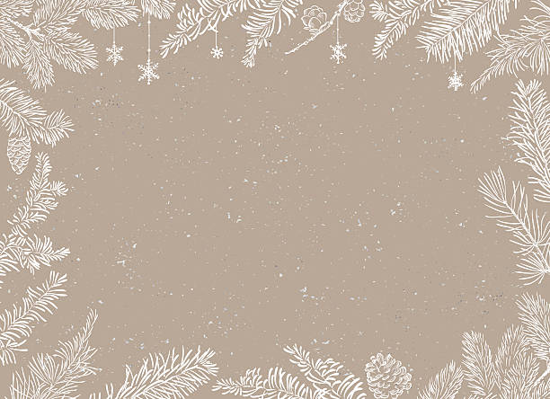 christmas poster - illustration. vector illustration of christmas background - holiday backgrounds stock illustrations, clip art, cartoons, & icons