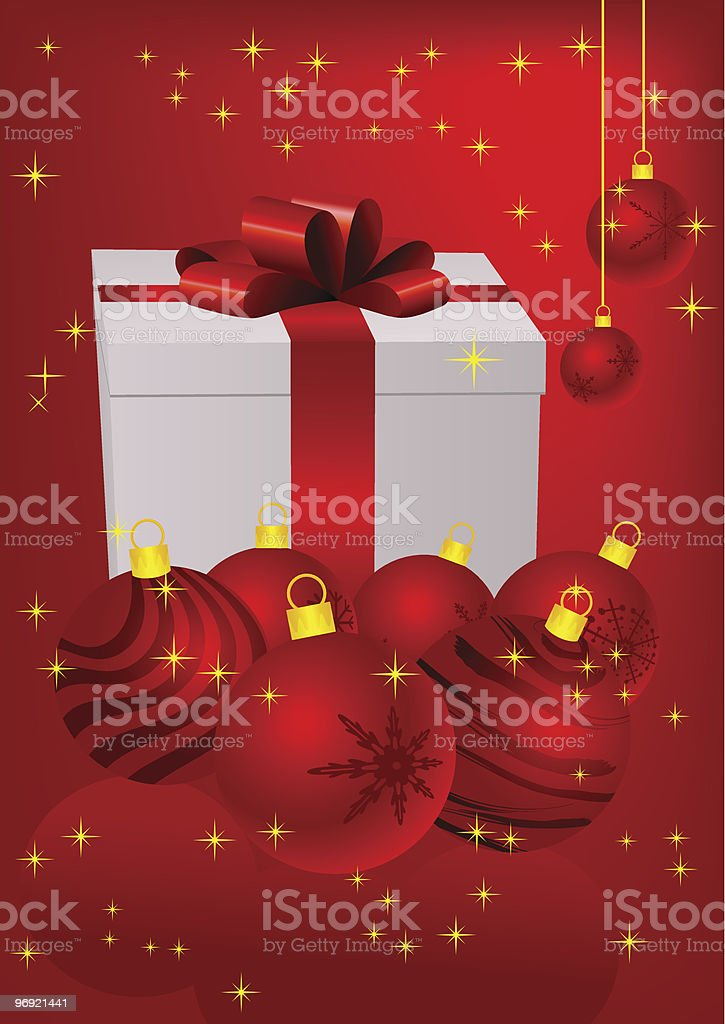 Christmas present box royalty-free christmas present box stock vector art & more images of backgrounds