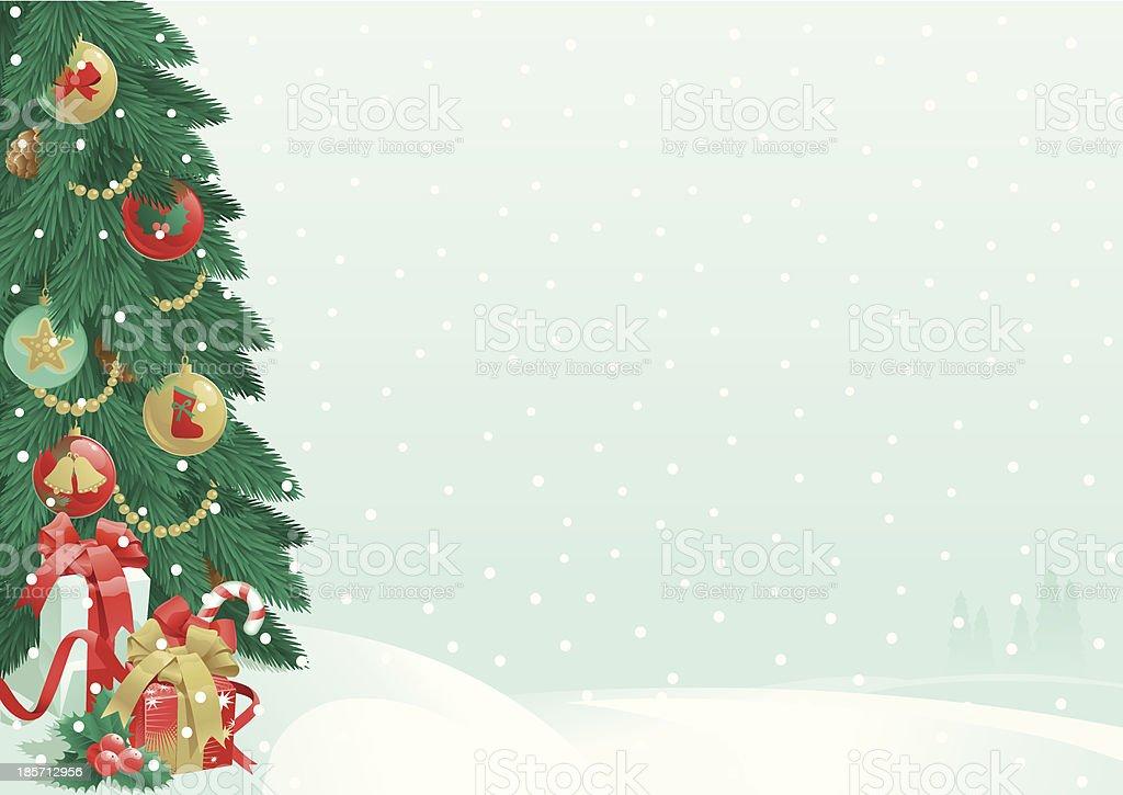 Christmas presents royalty-free stock vector art