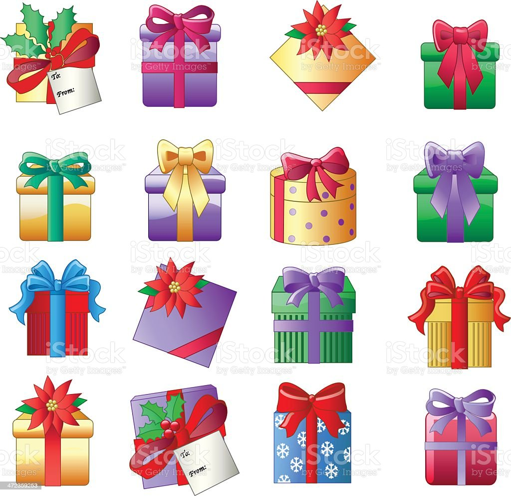 Christmas Presents Stock Vector Art & More Images of Abstract ...