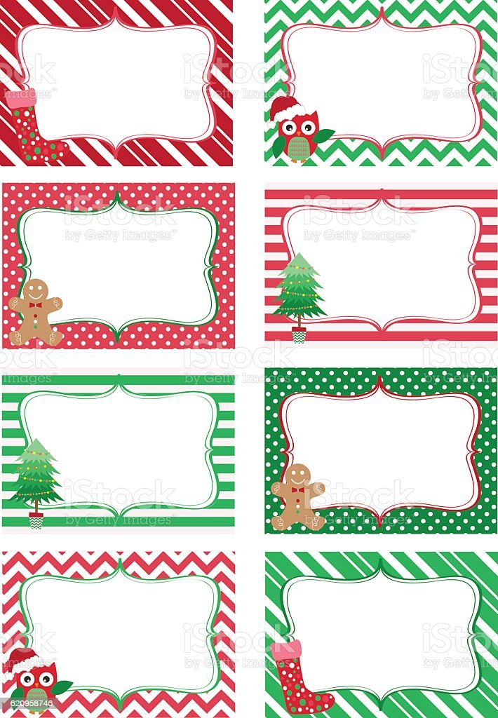Transformative image with free printable holiday gift tags