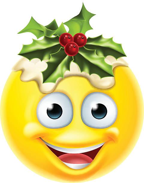 serviettenkloß emoticon mit emoji - pflaumenkuchen stock-grafiken, -clipart, -cartoons und -symbole