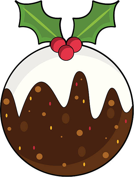 Christmas Pudding Illustrations, Royalty-Free Vector ...